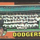 Los Angeles Dodgers Team Card 1975 Topps Baseball Card 361 good marked checklist