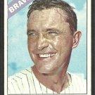 Atlanta Braves John Blanchard 1966 Topps Baseball Card 268 vg/ex