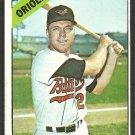 Baltimore Orioles Carl Warwick 1966 Topps Baseball Card 247 vg