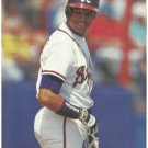 Atlanta Braves Dave Justice 1994 Pinup Photo