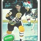 Boston Bruins Al Sims 1975 Topps Hockey Card 136 em/nm