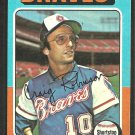Atlanta Braves Craig Robinson 1975 Topps Baseball Card 367 ex