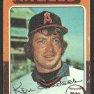 California Angels Ken Sanders 1975 Topps Baseball Card 366 good