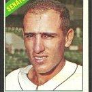 Washington Senators Bob Saverine 1966 Topps Baseball Card 312