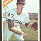 Chicago White Sox Greg Bollo 1966 Topps Baseball Card 301 vg/ex