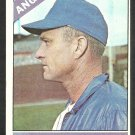 California Angels Lou Burdette 1966 Topps Baseball Card 299 ex