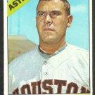 Houston Astros Jim Owens 1966 Topps Baseball Card 297 vg