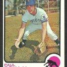 Kansas City Royals Paul Schaal 1973 Topps Baseball Card 416 nr mt