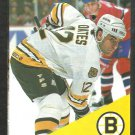1993 1994 Boston Bruins Pocket Schedule Adam Oates Budweiser Beer Sports Radio WEEI