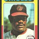 Baltimore Orioles Don Baylor 1975 Topps Baseball Card 382 ex