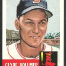 1991 Boston Red Sox Clyde Vollmer 1953 Topps Archive Baseball Card 32