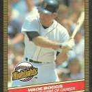 Boston Red Sox Wade Boggs 1986 Donruss Highlights Baseball Card 11 1st 5 Hit Game