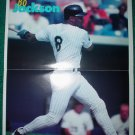 Chicago White Sox Bo Jackson 1994 Sports Hero Mini Poster