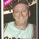 Pittsburgh Pirates Harry Walker 1966 Topps Baseball Card 318 vg/ex
