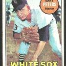 Chicago White Sox Gary Peters 1969 Topps Baseball Card 368 vg