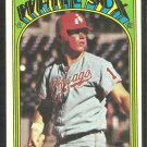 Chicago White Sox Ed Herrmann 1972 Topps Baseball Card 452 vg/ex