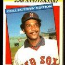 Boston Red Sox Jim Rice 1987 Kmart 25th Anniversary Baseball Card 18