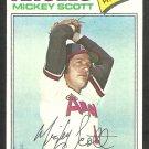 California Angels Mickey Scott 1977 Topps Baseball Card 401 ex/em
