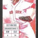 Detroit Tigers Boston Red Sox 2015 Ticket Yoenis Cespedes Nick Castellanos J D Martinez