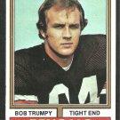 Cincinnati Bengals Bob Trumpy 1974 Topps Football Card 210