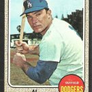 Los Angeles Dodgers Al Ferrara 1968 Topps Baseball Card 34 vg/ex