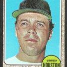 Houston Astros Ron Davis 1968 Topps Baseball Card 21 nr mt