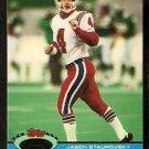 New England Patriots Jason Staurovsky 1991 Topps Stadium Club Football Card 17