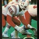 New England Patriots Chris Singleton 1991 Topps Stadium Club Football Card 52