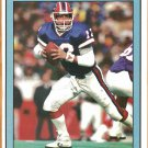 Buffalo Bills Jim Kelly 1991 Pinup Photo 8x10