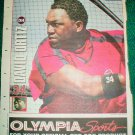Boston Red Sox David Ortiz 2005 Newspaper Poster Photo Big Papi