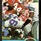 New England Patriots John Stephens 1991 Topps Stadium Club Football Card 156