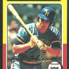 Milwaukee Brewers Bob Coluccio 1975 Topps Baseball Card 456 vg