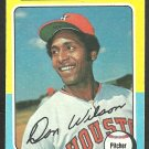 Houston Astros Don Wilson 1975 Topps Baseball Card 455 vg