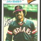 Cleveland Indians Jim Bibby 1977 Topps Baseball Card 501 ex mt