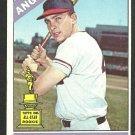 California Angels Paul Schaal 1966 Topps Baseball Card 376 vg