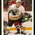 Boston Bruins Don Sweeney 1991 Upper Deck Hockey Card 338