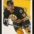 Boston Bruins Jeff Lazaro RC Rookie Card 1991 Upper Deck Hockey Card 364