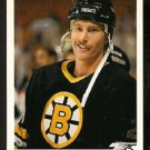Boston Bruins Bob Sweeney 1991 Upper Deck Hockey Card 391