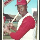 Cleveland Indians Chuck Hinton 1966 Topps Baseball Card 391 vg