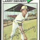 Pittsburgh Pirates Larry Demery 1977 Topps Baseball Card 607 vg