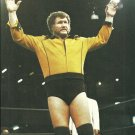 WWF Harley Race 1986 Pinup Photo 8x10 World Wrestling Federation