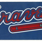 1992 Atlanta Braves Tomahawk Bumper Sticker