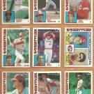 1984 1985 Cincinnati Reds Team Lot 26 diff Tony Perez Dave Concepcion Dave Parker Mario Soto Oester