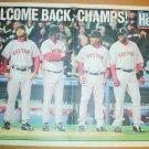 Boston Red Sox 2005 Newspaper Poster David Ortiz Manny Ramirez Johnny Damon Kevin Millar +