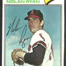 California Angels Nolan Ryan 1977 Topps Baseball Card 650 g/vg