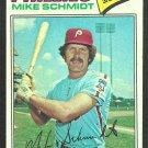 Philadelphia Phillies Mike Schmidt 1977 Topps Baseball Card 140 vg