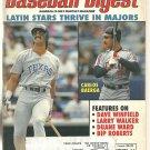 1993 Baseball Digest Kansas City Royals George Brett Cleveland Indians Rangers Washington Senators