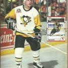 Montreal Canadiens Jean Beliveau Pittsburgh Penguins Mark Recchi 1991 Pinup Photos 8x10
