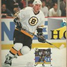 Boston Bruins Ken Hodge 1991 Pinup Photo 8x10