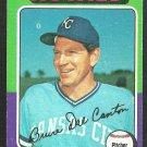 Kansas City Royals Bruce Dal Canton 1975 Topps Baseball Card 472 vg/ex
